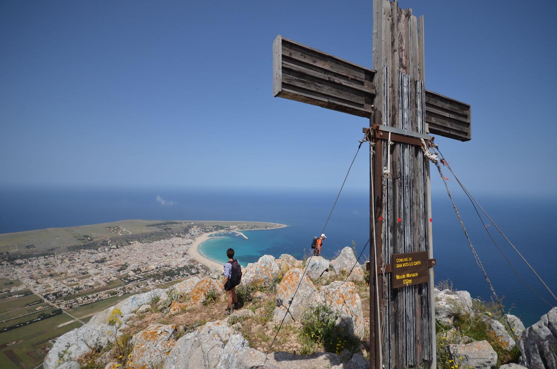 La cima di Monte Monaco